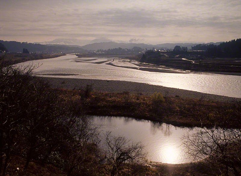 信濃川(攝影地:新潟縣)