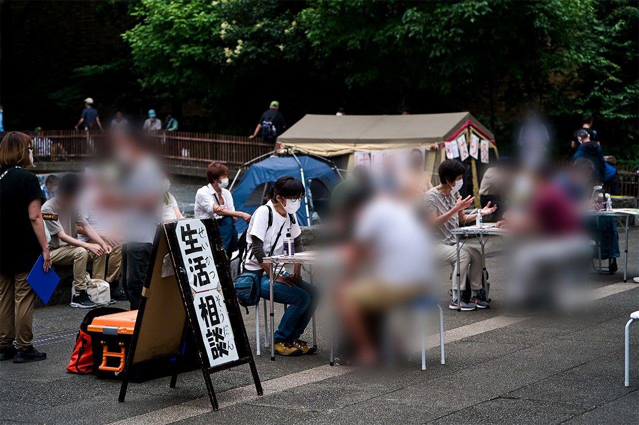 TENOHASIの相談コーナー(Koishi Kazuo氏提供)