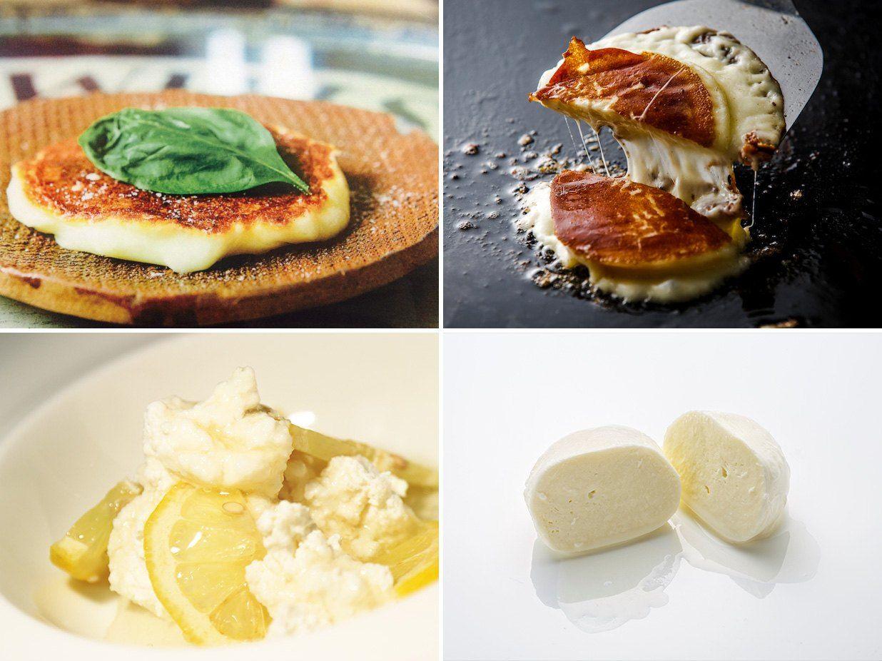 カチョカヴァロ(上段) リコッタ(左下) モッツアレラ(右下)。ファットリアビオのチーズはアルマーニリストランテ銀座(東京・銀座)他高級イタリアン・レストランでも採用されている ファットリアビオ北海道提供</span></p> <p>愛する家族を故国に残し、単身赴任してきたチーズマスターはこう語