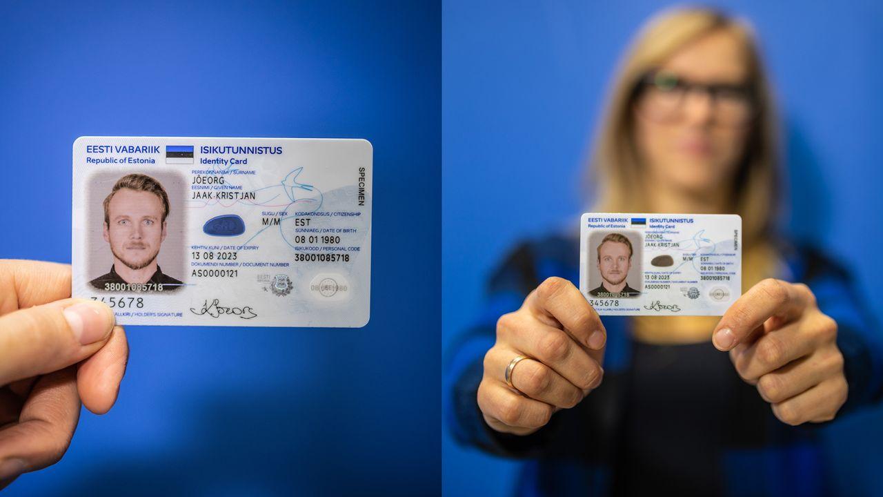 エストニアのe-IDカード