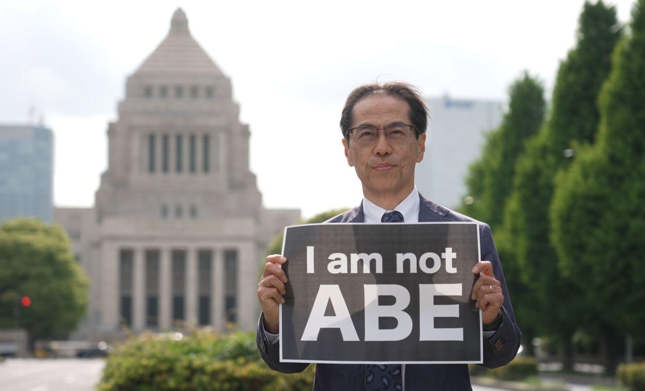経済産業省出身の古賀茂明氏 ©2021『パンケーキを毒見する』製作委員会