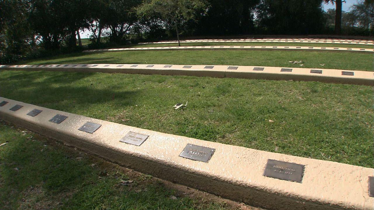 死亡した戦争捕虜や抑留者、墜落した飛行士らが眠るカウラ日本人戦争墓地 ©瀬戸内海放送
