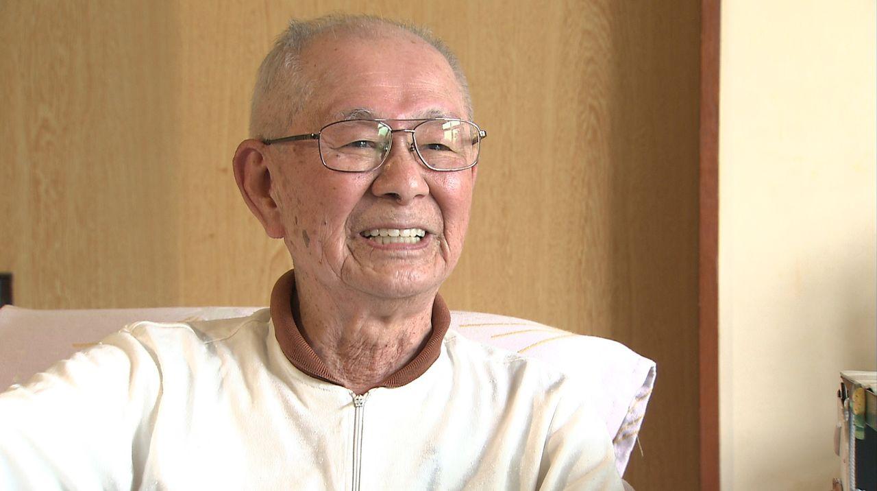 復員後は通産省に長年勤めた今井祐之介さん(1920-2018) ©瀬戸内海放送