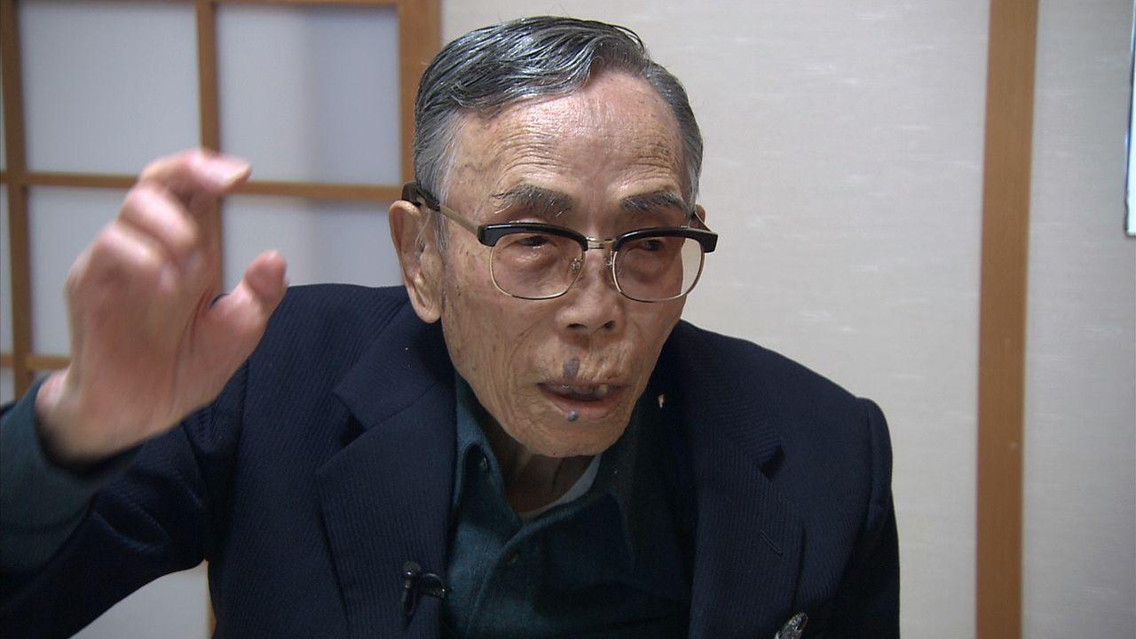 元陸軍兵長の立花誠一郎さん(1921-2017) ©瀬戸内海放送