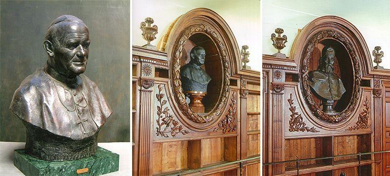 モデルの「内面」を引き出す造形:ローマ法王3人の胸像を制作した彫刻 ...