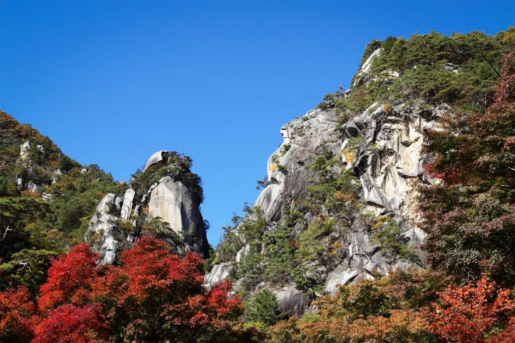 Сёсэнкё, живописное место национального значения в северной части города Кофу (фотография Организации по развитию туризма преф. Яманаси)