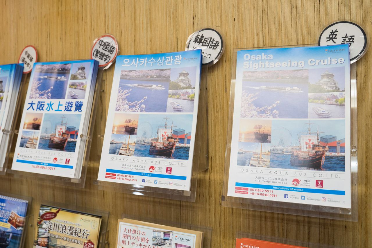 Брошюры Aqua-Liner доступны на японском, английском, корейском и китайском языках