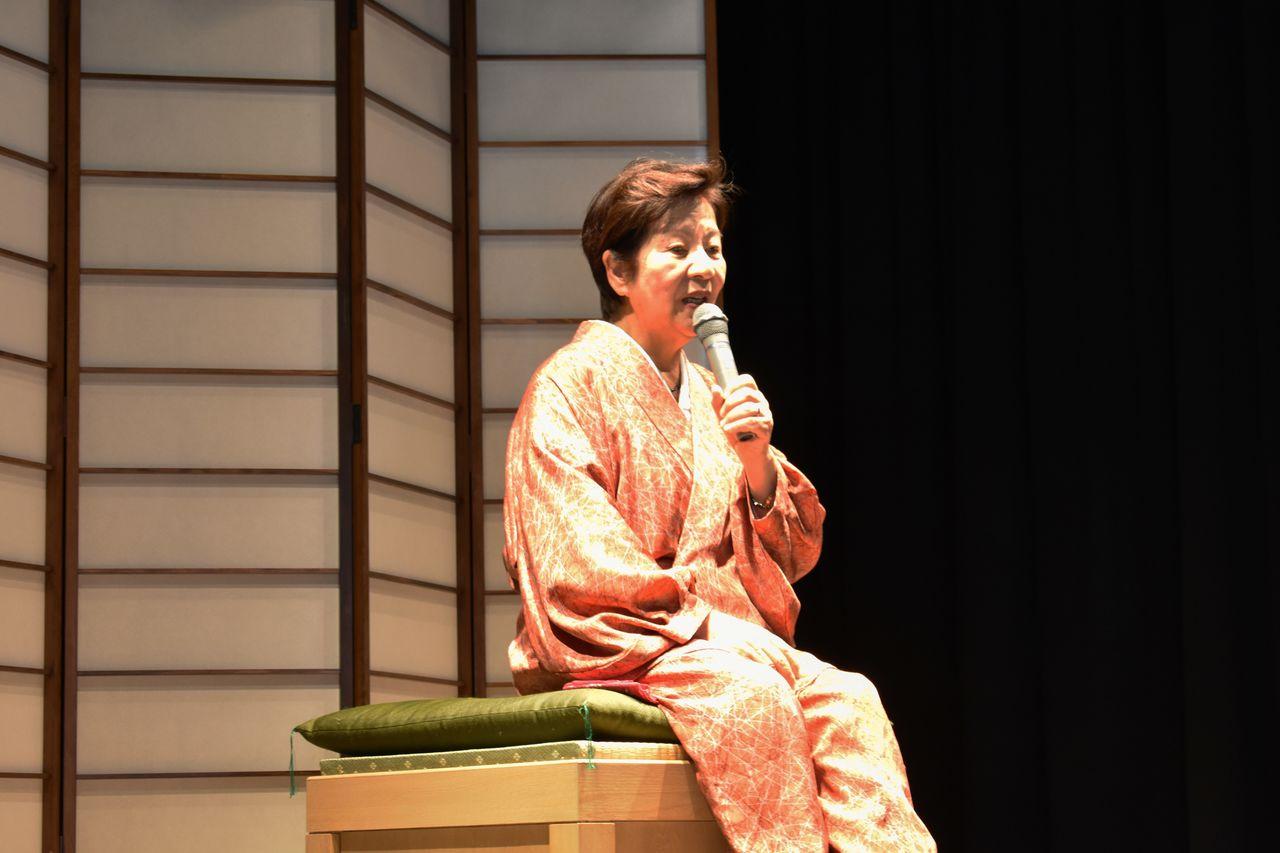 В театре «Тонодза» рассказывают японские народные сказки на разных диалектах