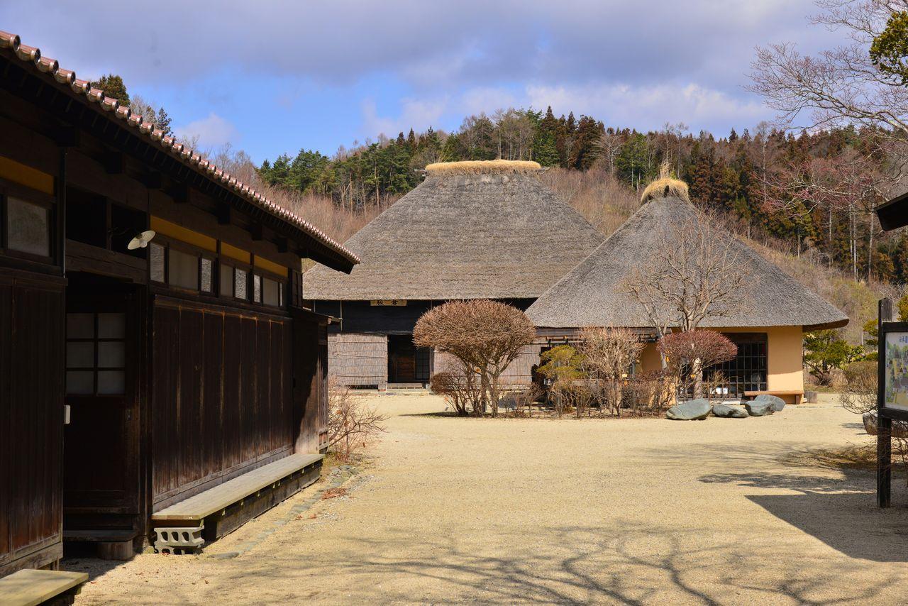 В парке царит атмосфера старой Японии