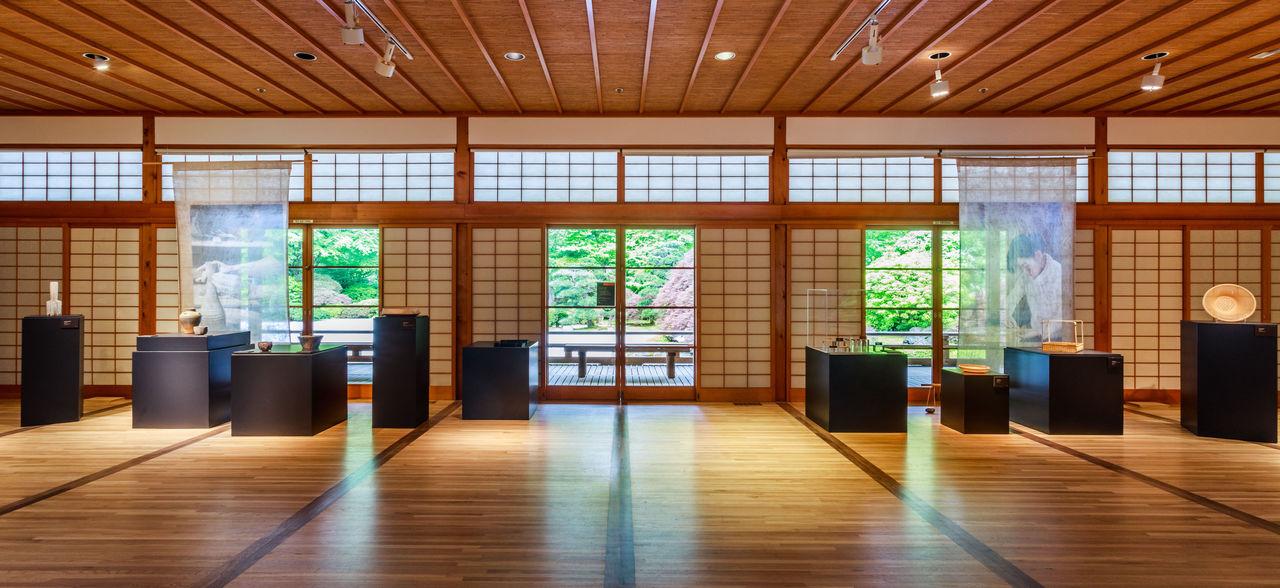 На выставке в Портлендском японском саду были представлены работы пяти ремесленников из Киото (© Джонатон Лей)