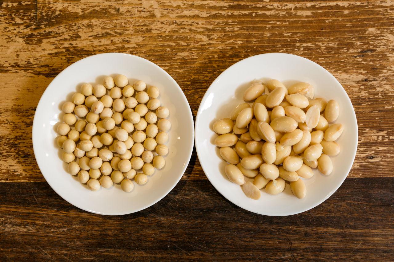 Для мисо используют крупные соевые бобы сладкого сорта цурумусумэ с Хоккайдо