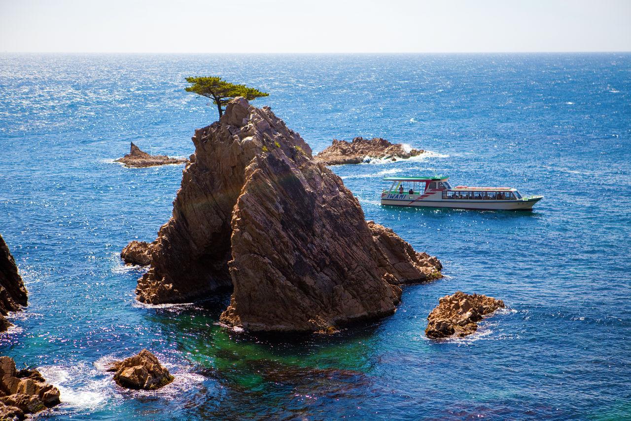 Остров Сэнганмацусима и прогулочное судно