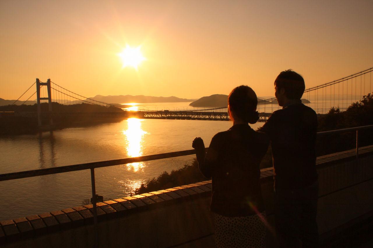Романтическая атмосфера этого места привлекает множество туристов особенно во время заката