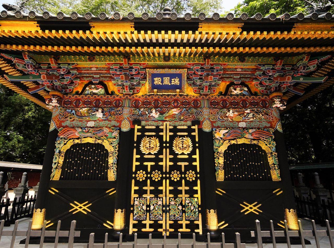 Усыпальница Дзуйходэн расположена на холме Кёгаминэ высотой около 70 метров (фотография предоставлена Дзуйходэн)