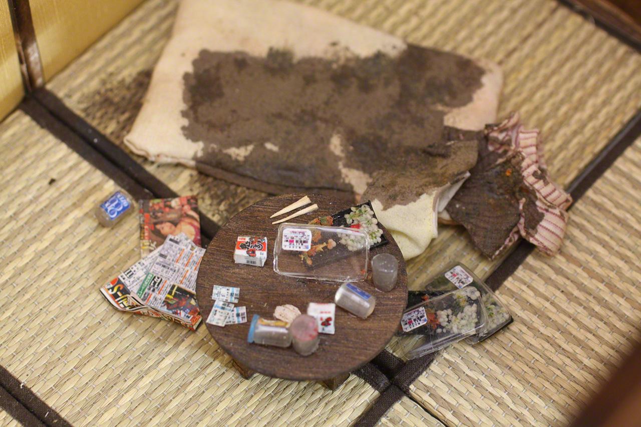 Деталь миниатюры «Кодокуси человека 50-60 лет»