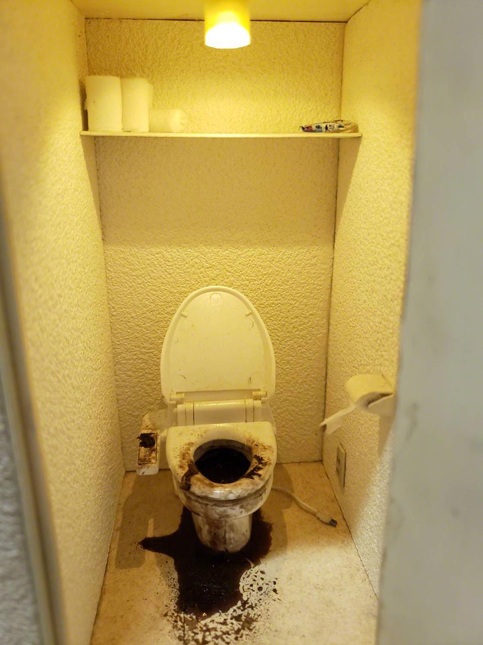 «Кодокуси от теплового шока в туалете»