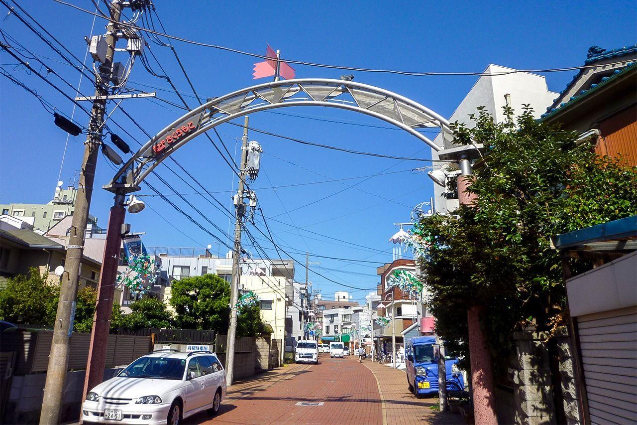Типичный пейзаж в Сакурамото (снимок предоставлен автором статьи)