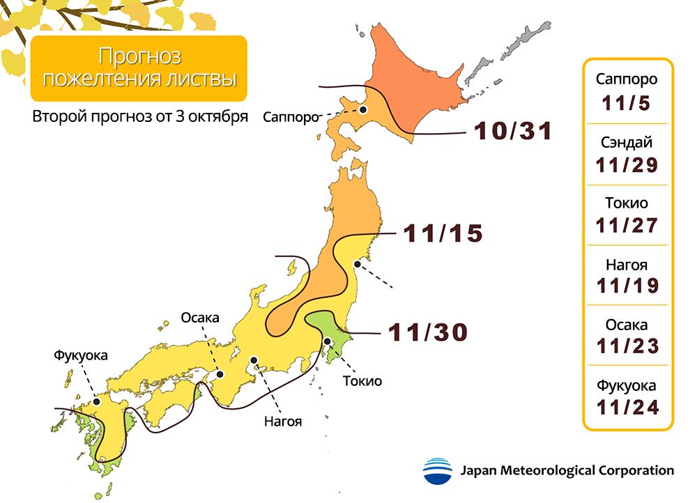 Источник: ООО Японская Метеорологическая Компания