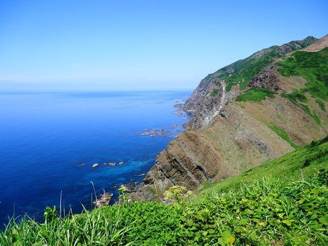 Утёсы острова Рэбун (предоставлено Министерством окружающей среды)