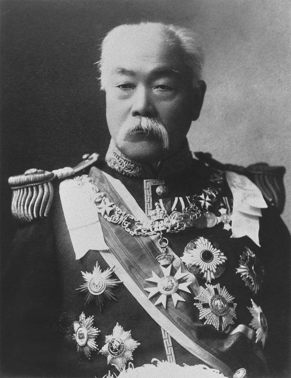 Мацуката Масаёси (1835-1924) несколько раз был министром финансов, и дважды – премьер-министром, в 1891-1892 и 1896-1898 годах (фотография предоставлена Библиотекой парламента Японии)