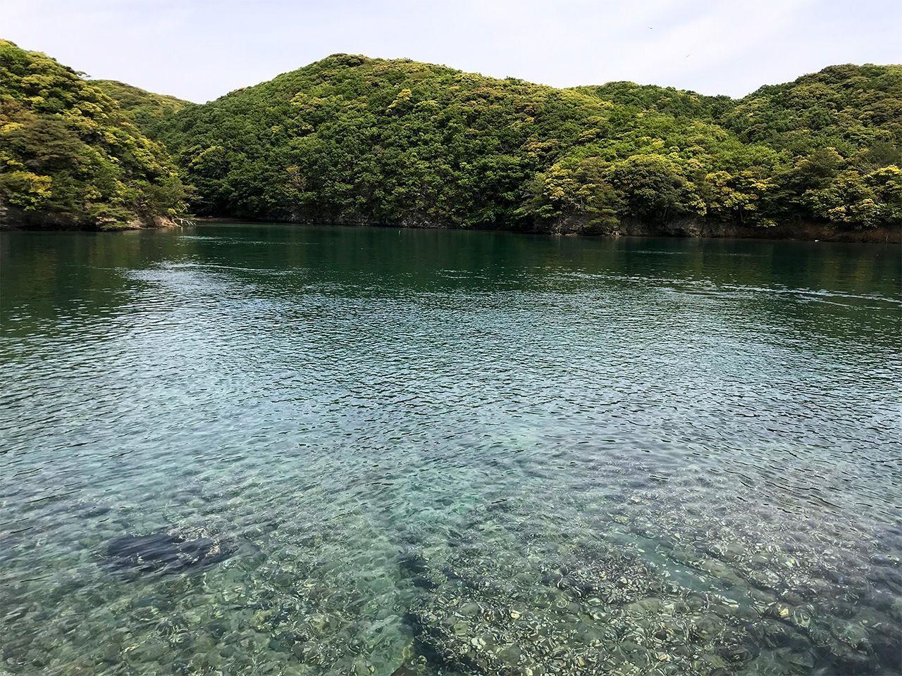 Голубые воды и зеленые холмы Цусимы
