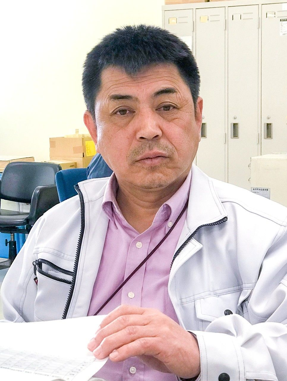 Глава департамента экологической стратегии Цусимы Сарикура Масаси