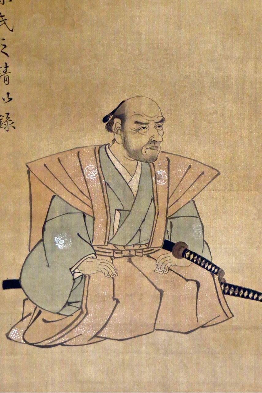 Окамото Сюки, «Сидящий Сонтоку» (предоставлено музеем Хотоку, г. Одавара)