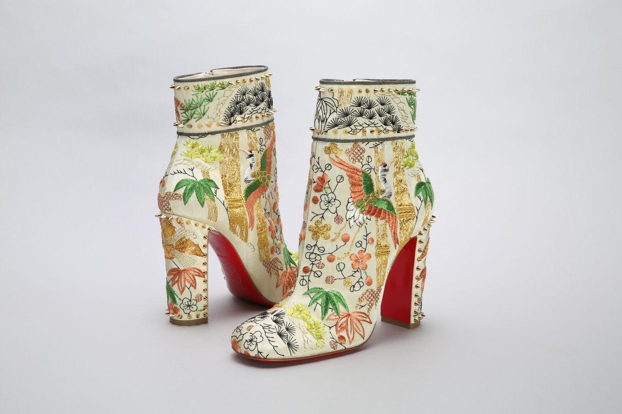 Ботинки от Кристиана Лубутена, коллекция осень-зима 2017 (© Киотский институт костюма)