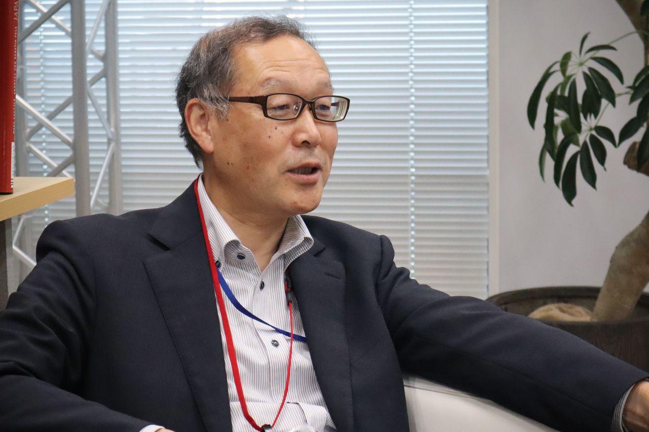 Интервью состоялось 5июня 2020года в офисе nippon.com в токийском районе Тораномон