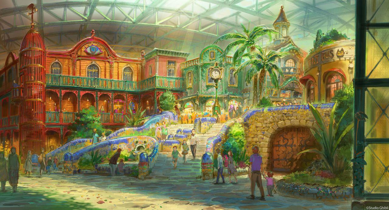 «Зона большого склада» в «Парке Гибли» (проект, ©Studio Ghibli)