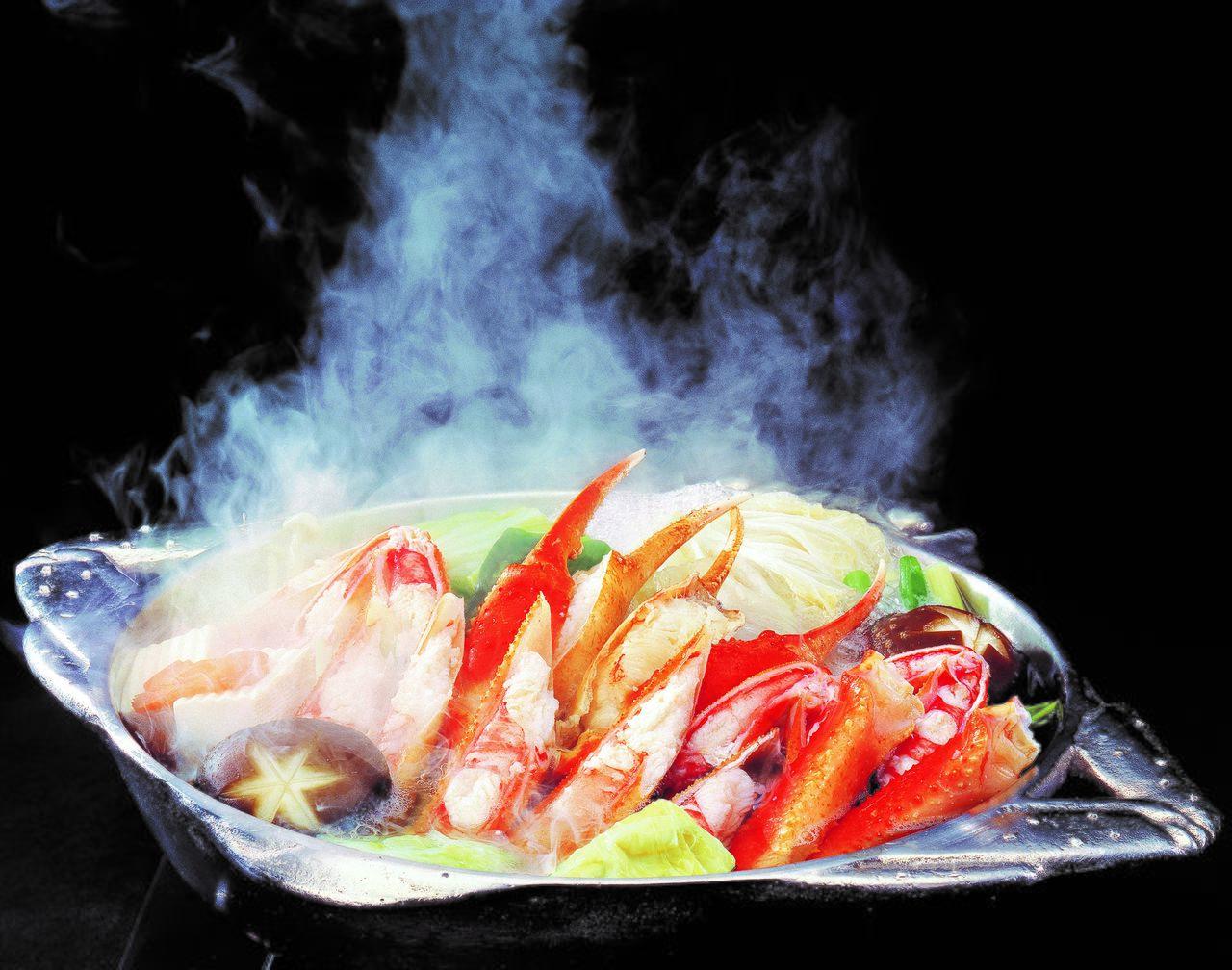 Кани-суки – популярное блюдо ресторана «Кани дораку» (Предоставлено «Кани дораку»)