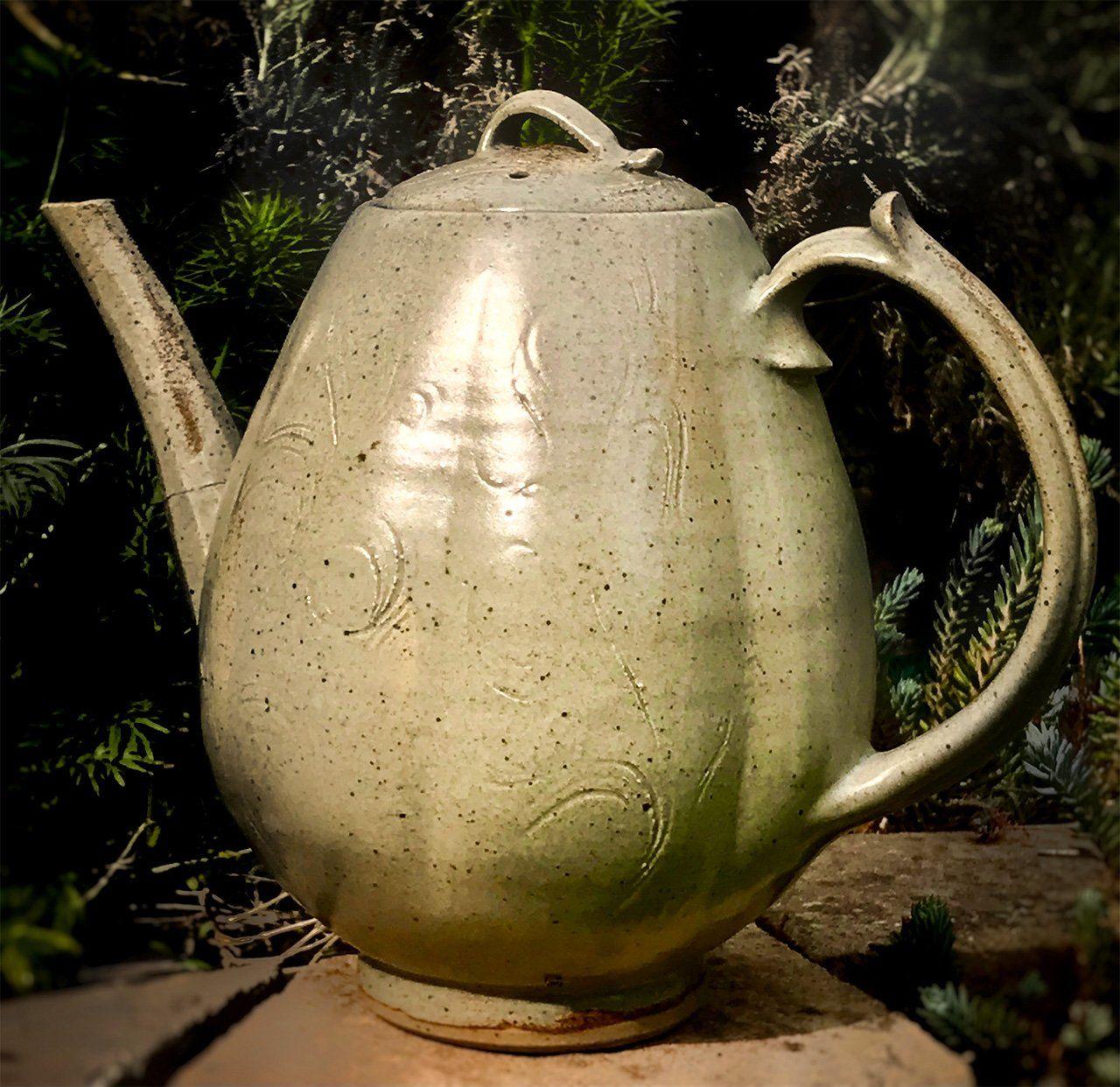 Чайник, сделанный отцом Дэвида Кендалла (© фото Дэвида Кендалла)