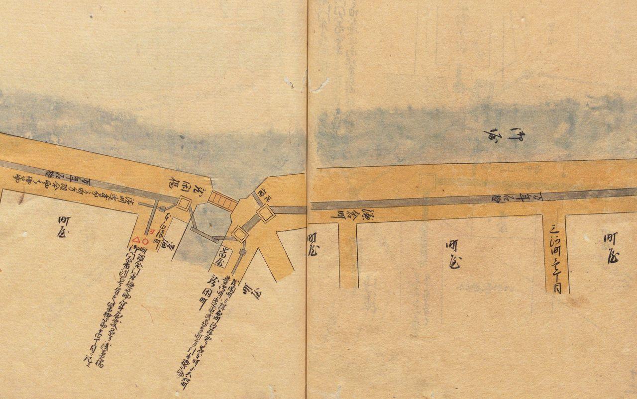 «Записи о водопроводе» (Дзёсуйки), Национальный архив Японии