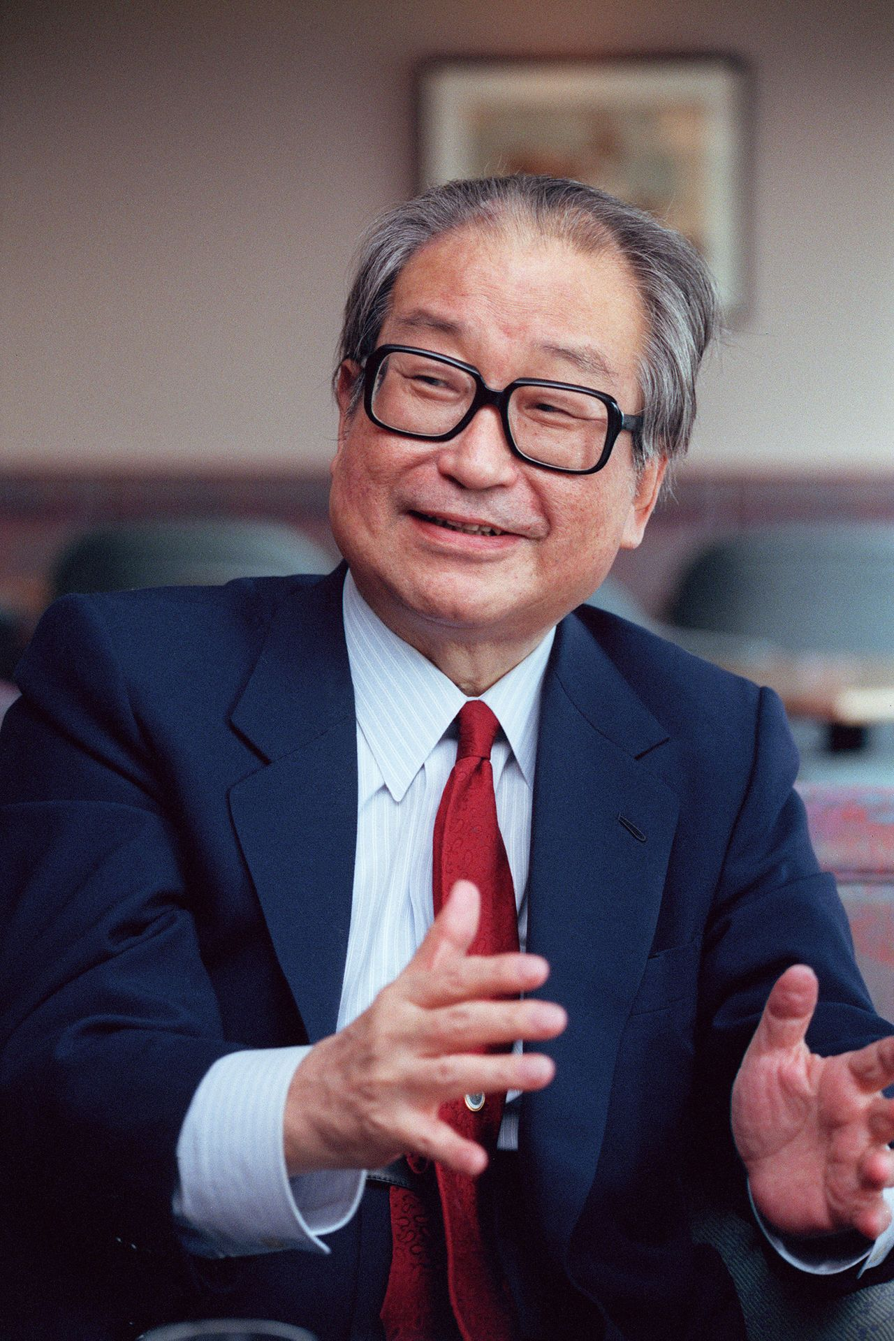 Комацу Сакё (1931-2011) – автор 17 романов и 62 книг (© Jiji, 1992)