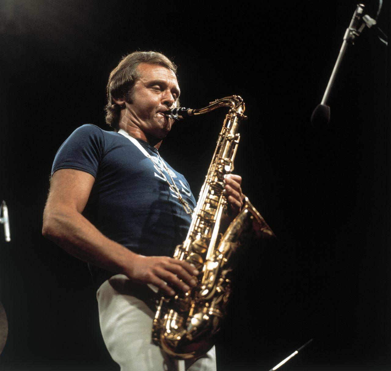 Стэн Гетц, один из пионеров кул-джаза. Мураками Харуки перенял его подход к творчеству (© Aflo)