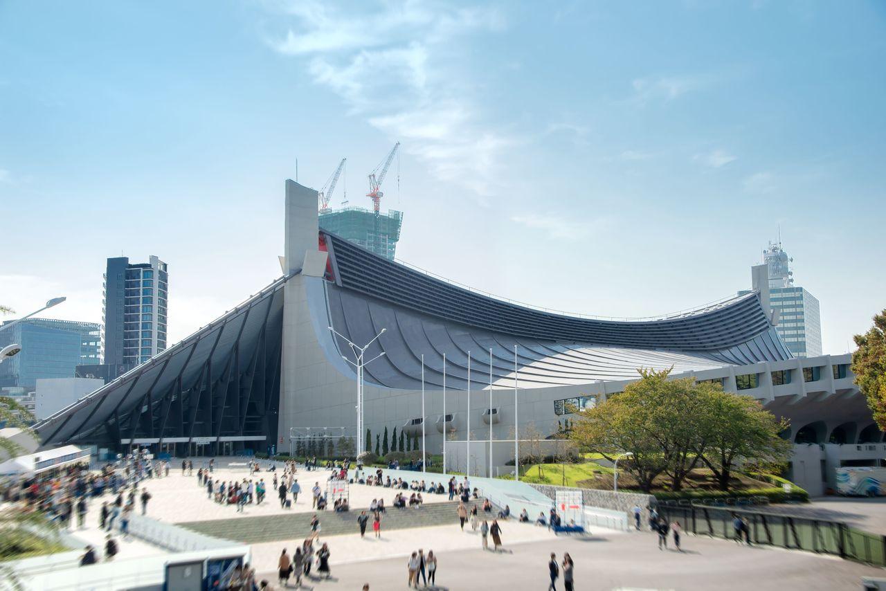 Национальный стадион Ёёги, корпус №1 (1964) (© Pixta)