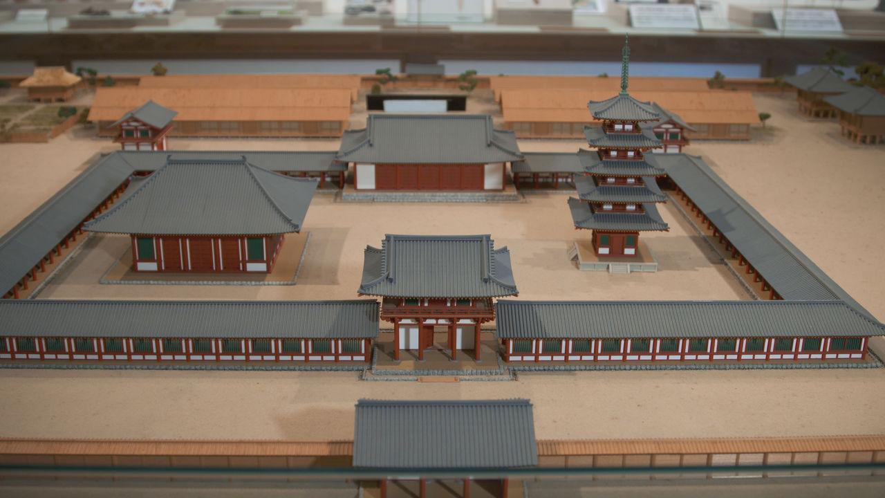 Модель храма в музее Ното-кокубундзи