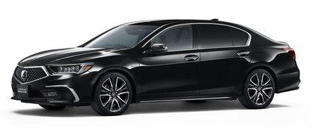 Нынешняя модель Legend компании Honda (снимок предоставлен компанией Honda)