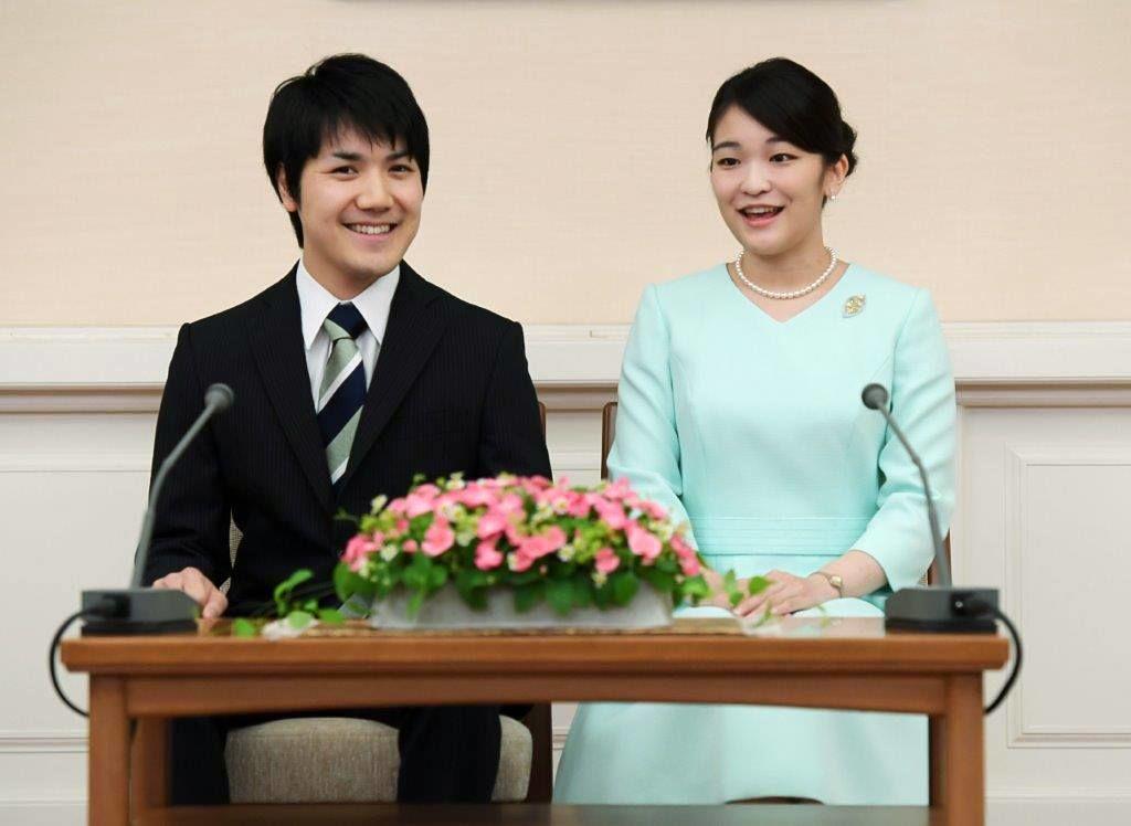 принцесса Мако и Комуро Кэй, 3 сентября 2017 г. (предоставлено Управлением императорского двора)