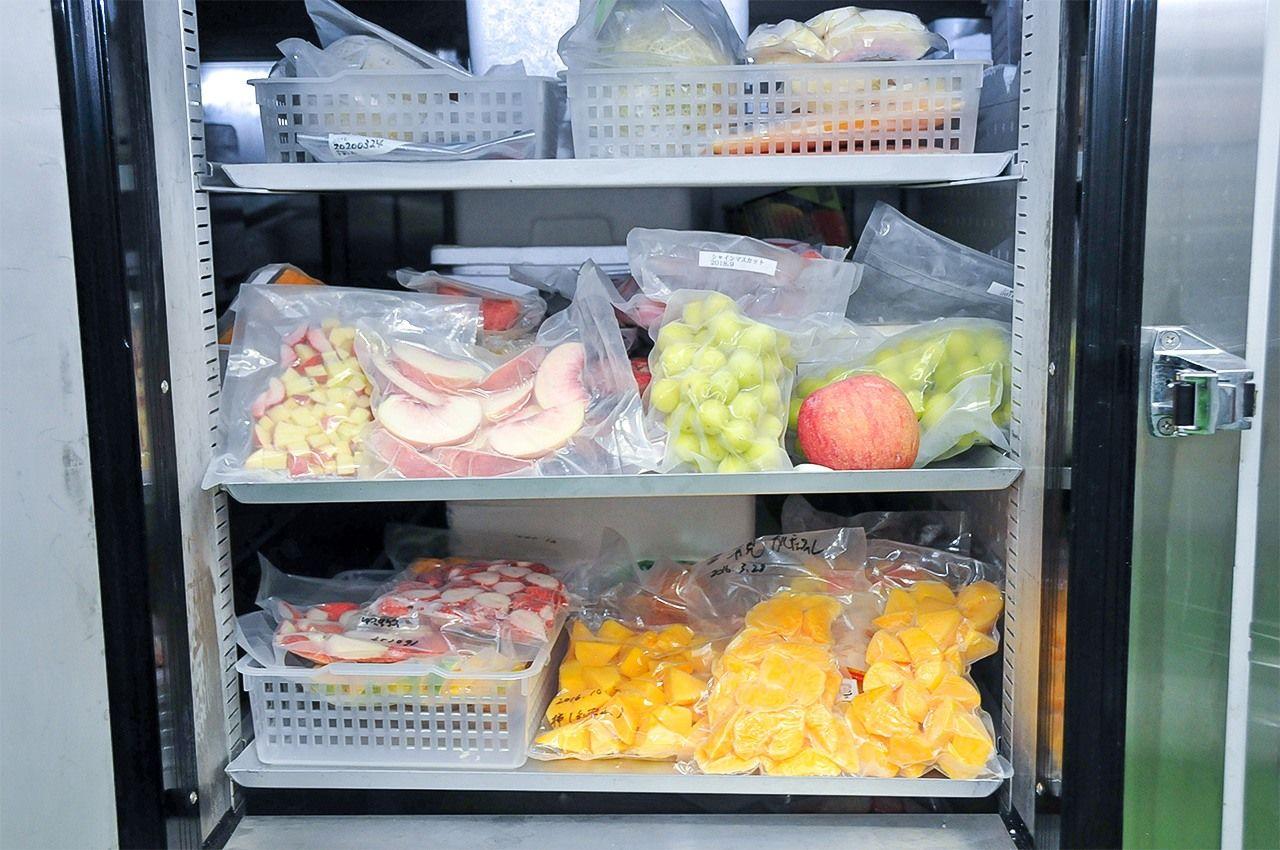 Ингредиенты, замороженные с использованием CAS
